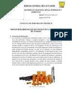 Perforacion Minera II Consulta N2