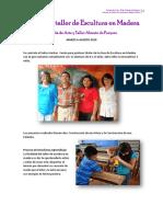 Informe de Taller de Escultura en Madera1