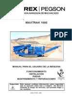 Maxtrak 1000 Manual 02ES 210706