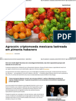 Agrocoin_ Criptomoeda Mexicana Lastreada Em Pimenta Habanero - Sputnik Brasil
