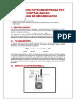 Titulaciones Potenciometricas Por Neutralizacion Bicarbonato Final