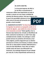 MANIFIESTO DEL EXITO COM PNL.doc