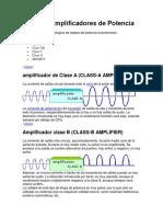 Tipos de Amplificadores de Potencia.docx
