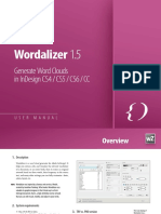 En Wordalizer Manual