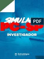 Simulado Investigador Estrategia