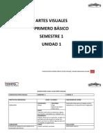 1° Básico, Planificación Artes Visuales 1° Unidad