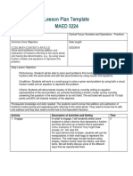official maed lesson plan