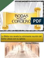 Las Bodas Del Cordero