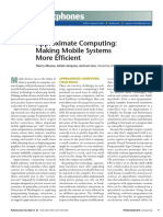 Approximate Computing Making Mobile Systems More Efficient
