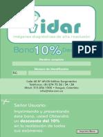 Bono Descuento IDAR