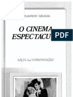 Eduardo Geada O Cinema Espectaculo 1987