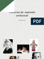 Trastornos Expresion Conductual