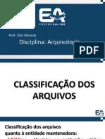 731 Aula 02 Classificacao Dos Arquivos