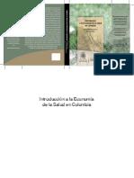 Introduccion a La Economia de La Salud en Colombia