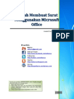 Mudah Membuat Surat Menggunakan Microsoft Office