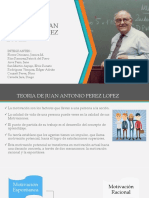 Teoria de Juan Antonio Perez Lopez