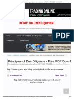 Bag Filters types ,working principles & daily maintenance - INFINITY FOR CEMENT EQUIPMENT.pdf