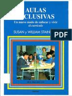 Aulas Inclusivas - Susan y William Stainback