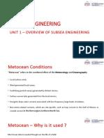 Subsea Unit 1
