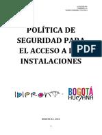 001 Poltica de Seguridad de La Entidad a-sad-di-001 v1-14