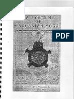 321378 a System of Caucasian Yoga by Count Stefan Colonna Walewski