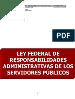 Ley Federal de Responsabilidades Advas de Los Servidores Públicos