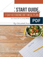 Ketogenic Quick Start Guide and 7 Day Meal Plan - Elizabeth Jane