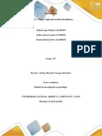Anexo 1 - Paso 3 - Aplicación Modelos Disciplinares_Grupo 137
