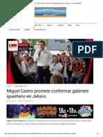 08-05-18 Miguel Castro promete conformar gabinete igualitario en Jalisco