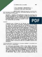 CSJN (1956) - Banco de La Nación c. Municipalidad de San Rafael