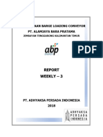 Contoh Cover Report weekly