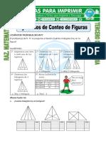 Ficha Ejercicios de Conteo de Figuras Para Tercero de Primaria