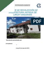 Analisis de Lugares Turisticos de Lircay