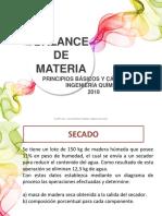 BALANCE DE MATERIA SIN REACCIÓN 2