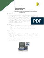 informe 10. Espectrofotometría