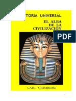 EL Alba de La Civilizacion Primeras Culturas Urbanas Grimberg Carl