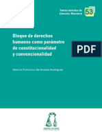 Bloque de Derechos Convencionalidad Rodri Guez