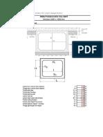 Adapun Tahapan Perhitungan Struktur Box Culvert Sebagai Berikut