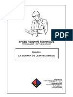1 Speed Reading Respuestas