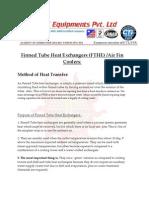 Finned Tube Heat Exchanger - Details