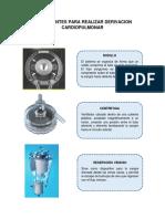 componentes para derivacion cardiopulmonar
