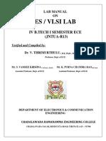 Vlsi Lab Manual