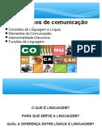 A Teoria Da Comunicação e as Funções Da Linguagem