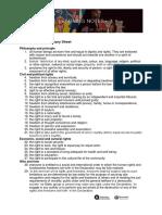 Human Rights Summary Sheet