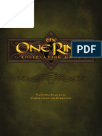 The One Ring RPG Revisions & Clarifications