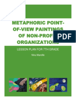 mandile - metaphoric point-of-view paintings of non-profit organizations