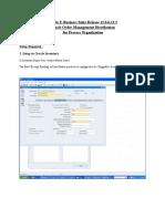 SLA Oracle Order Management Distribution.doc