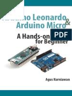 eBook Arduino Leonardo