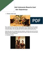 Pakaian Adat Indonesia Beserta Asal dan Sejarahnya.docx