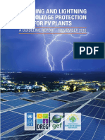Eatrthing and lightning protection of solar PV plant.pdf